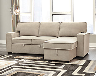 Darton 2-Piece Sleeper Sectional with Storage, , rollover