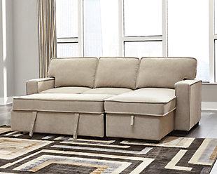 Darton 2-Piece Sleeper Sectional with Storage, , large