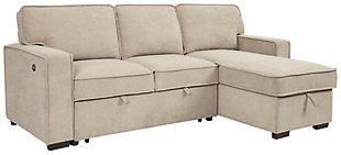 Darton 2-Piece Sleeper Sectional with Storage, , large