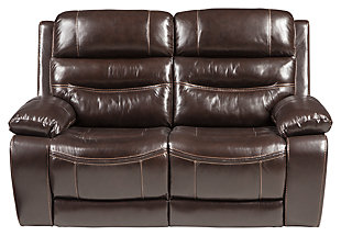 Calamine Reclining Loveseat, , large