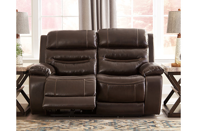 Calamine Power Reclining Loveseat, , large