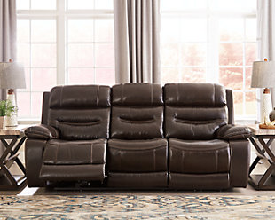 ... Large Calamine Power Reclining Sofa, , Rollover