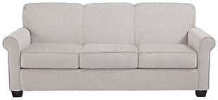 Cansler Full Sofa Sleeper, Pebble, large