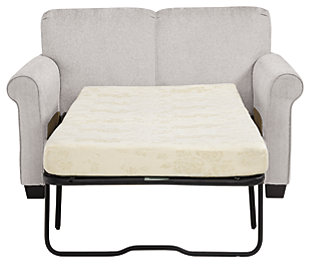 Cansler Twin Sofa Sleeper, Pebble, large