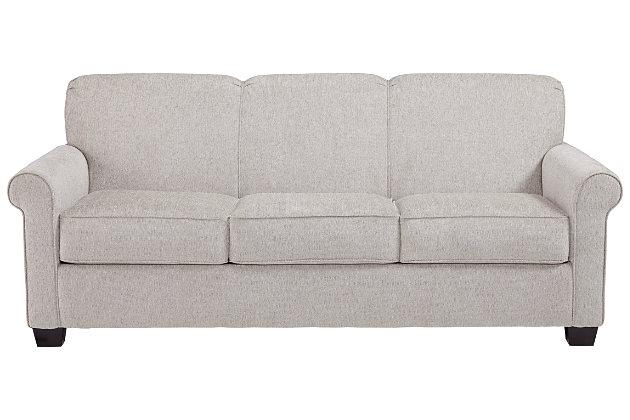 Cansler Queen Sofa Sleeper, Pebble, large