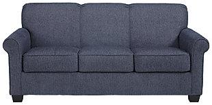 Cansler Full Sofa Sleeper, Denim, large