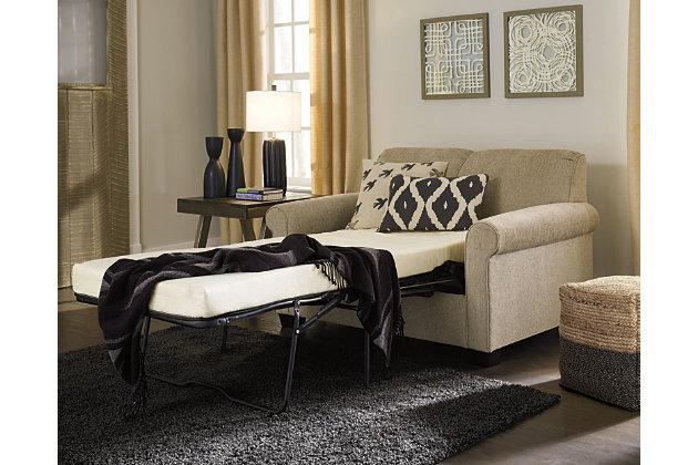 Cansler Twin Sofa Sleeper, Grain, large