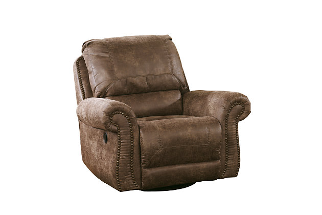 Product shown on a white background  sc 1 st  Ashley Furniture HomeStore & Oberson Swivel Glider Recliner | Ashley Furniture HomeStore islam-shia.org