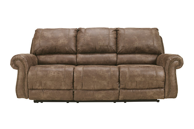 Oberson Power Reclining Sofa, , large