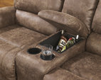 Oberson Reclining Loveseat With Console Ashley Furniture
