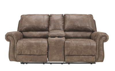 Oberson Power Reclining Loveseat with Console, , large
