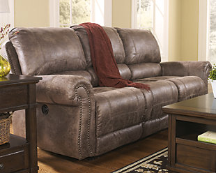 Oberson Power Reclining Sofa, , rollover