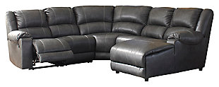 Brambleton 5-Piece Reclining Sectional with Chaise, , large