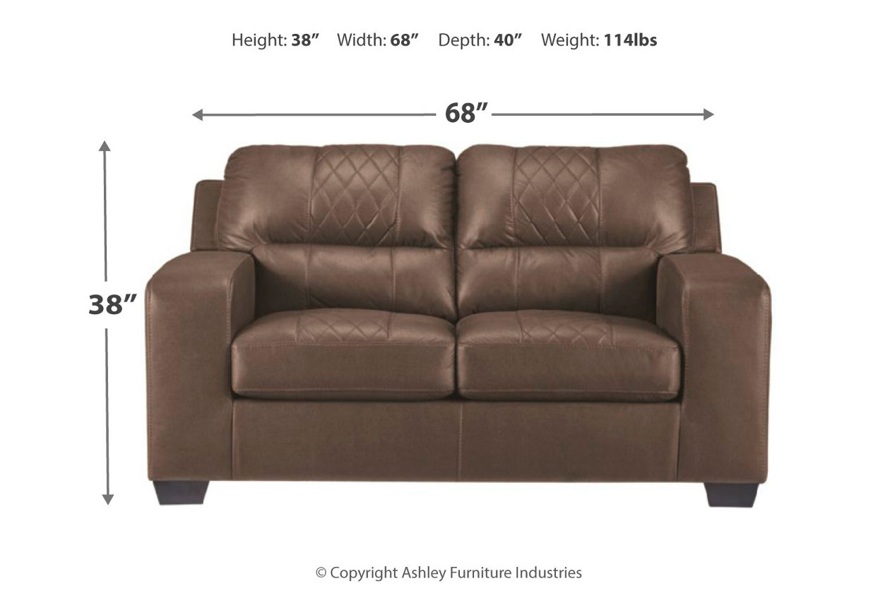 Brilliant Narzole Loveseat Ashley Furniture Homestore Pabps2019 Chair Design Images Pabps2019Com