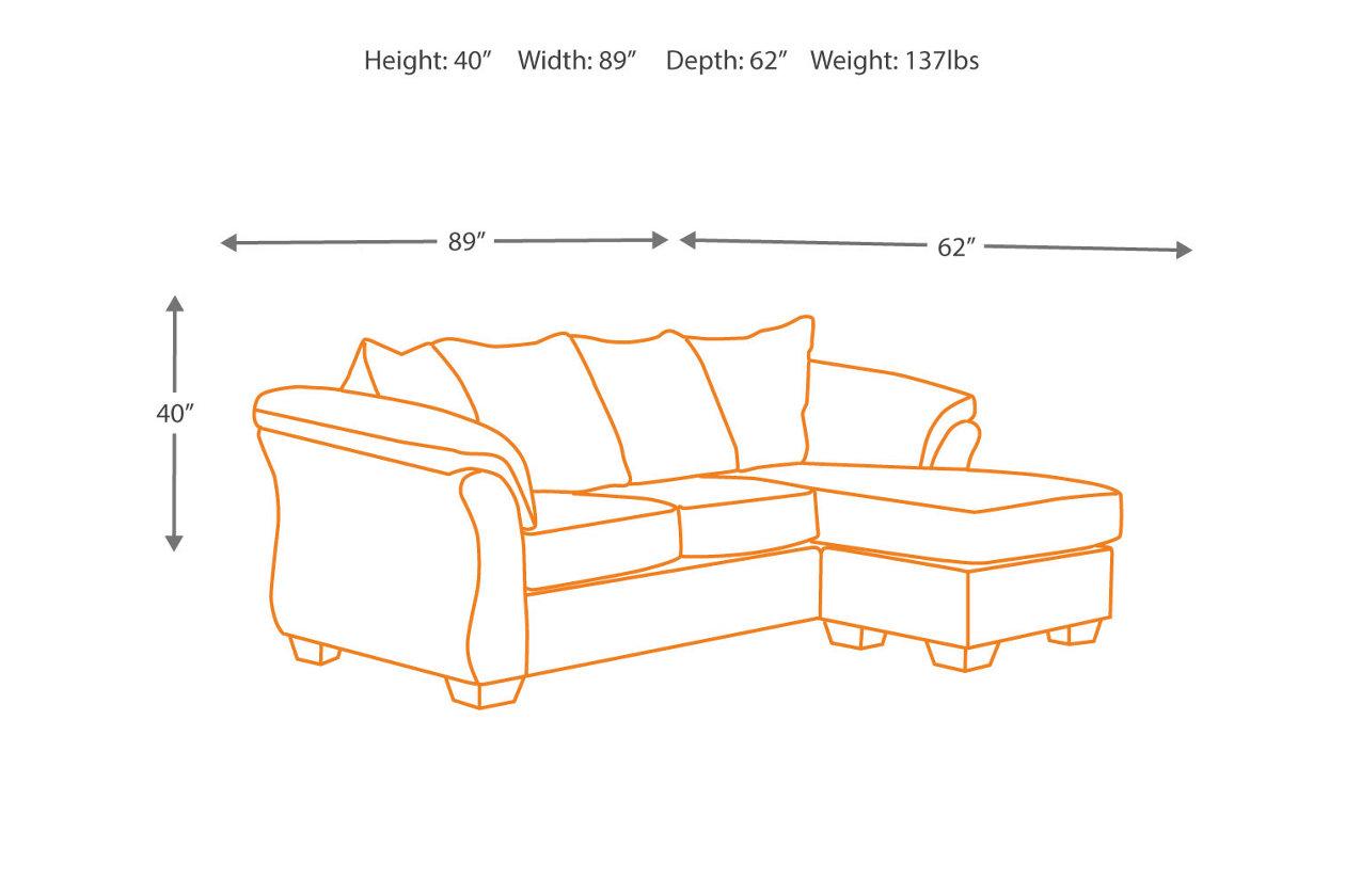 Prime Darcy Sofa Chaise Ashley Furniture Homestore Dailytribune Chair Design For Home Dailytribuneorg