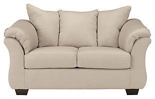 Darcy Sofa Chaise & Loveseat, Stone, large
