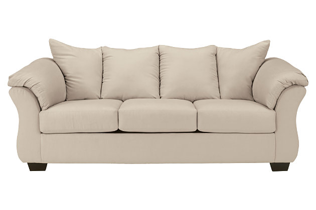 Darcy Full Sofa Sleeper Stone Large