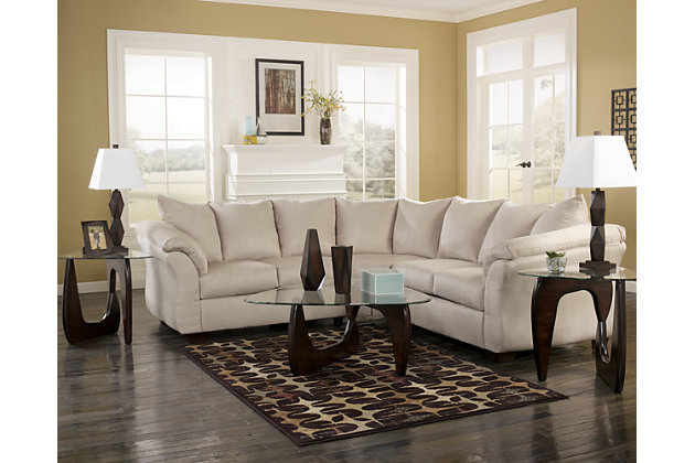 Product shown on a white background  sc 1 st  Ashley Furniture HomeStore : ashley darcy sectional - Sectionals, Sofas & Couches
