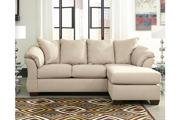 large Darcy Sofa Chaise  Stone  rollover. Sofas   Ashley Furniture HomeStore