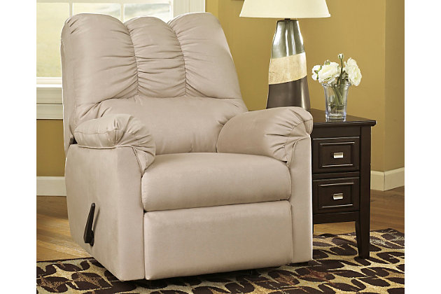 Darcy Recliner, Stone, large