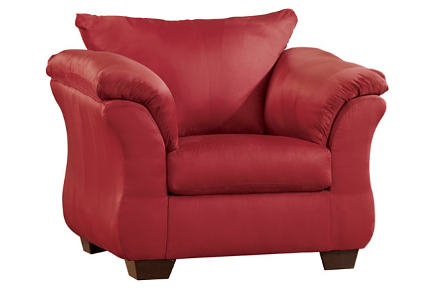 Darcy Chair by Ashley HomeStore, Red, Polyester (100 %)