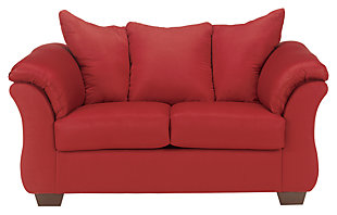 Darcy Loveseat, Salsa, large