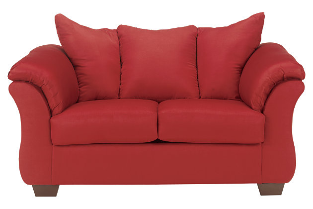 Darcy Sofa and Loveseat, Salsa, large