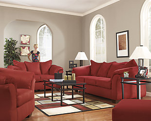 Darcy Sofa, Salsa, large