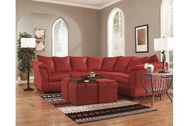 Darcy 2 Piece Sectional Ashley Furniture Homestore