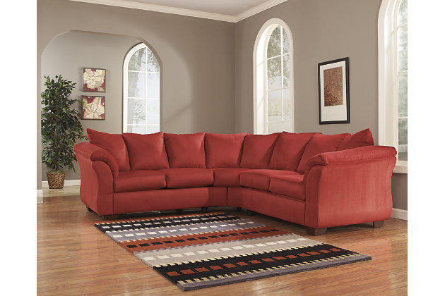 Darcy 2-Piece Sectional, Salsa, large