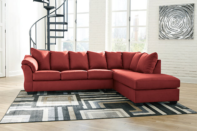 Darcy 2-Piece Sectional with Chaise and Sleeper, , large