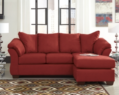 Darcy Sofa Chaise by Ashley HomeStore, Salsa