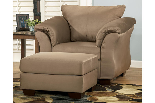Darcy Chair, Mocha, large