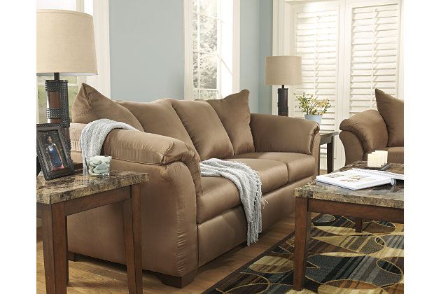 Darcy Sofa, Mocha, large