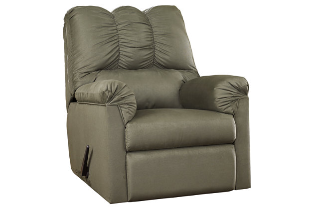 Darcy Recliner, Sage, large