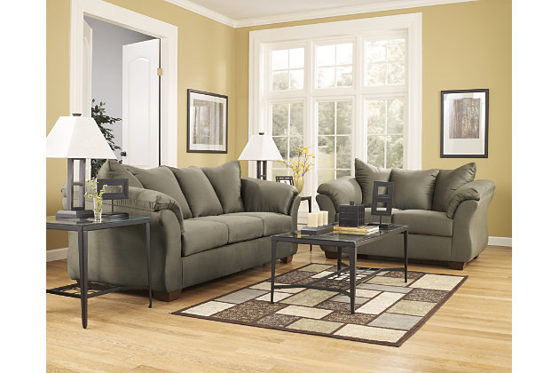 Darcy Loveseat, Sage, large