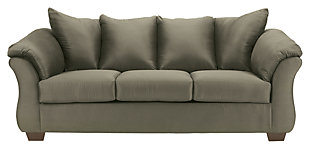 Darcy Full Sofa Sleeper, Sage, large