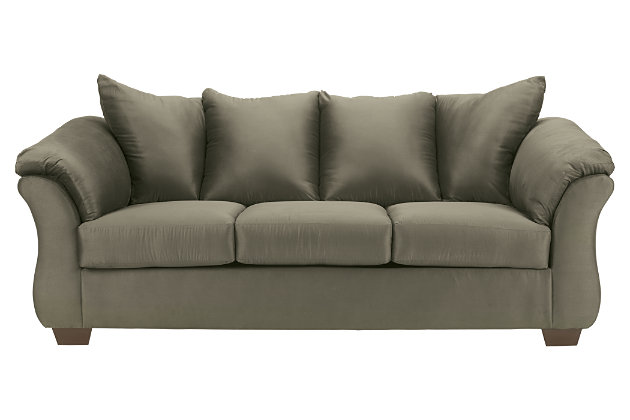 Darcy Full Sofa Sleeper by Ashley HomeStore, Green, Polyester (100 %)