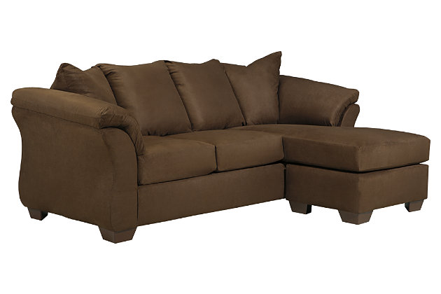 Darcy Sofa Chaise, Cafe, large