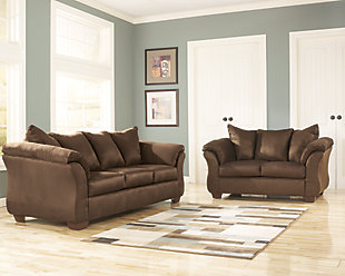 Darcy Sofa and Loveseat, Cafe, large