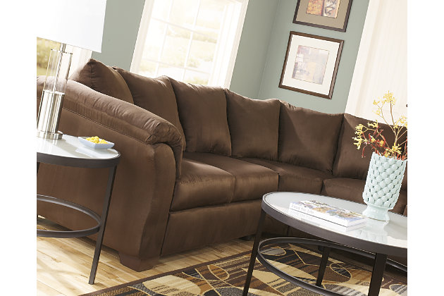 Darcy 2-Piece Sectional, Cafe, large
