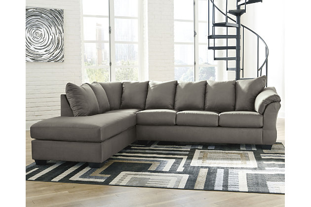 Darcy 2 Piece Sectional With Chaise, Ashley Furniture Signature Design Darcy Sofa Chaise