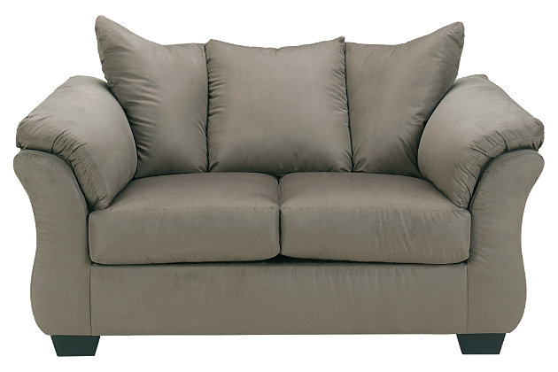 Darcy Loveseat, Cobblestone, large