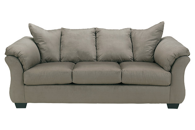 Darcy Full Sofa Sleeper by Ashley HomeStore, Gray, Polyester (100 %)