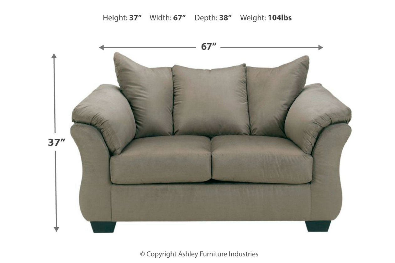 Stupendous Darcy Loveseat Ashley Furniture Homestore Gmtry Best Dining Table And Chair Ideas Images Gmtryco