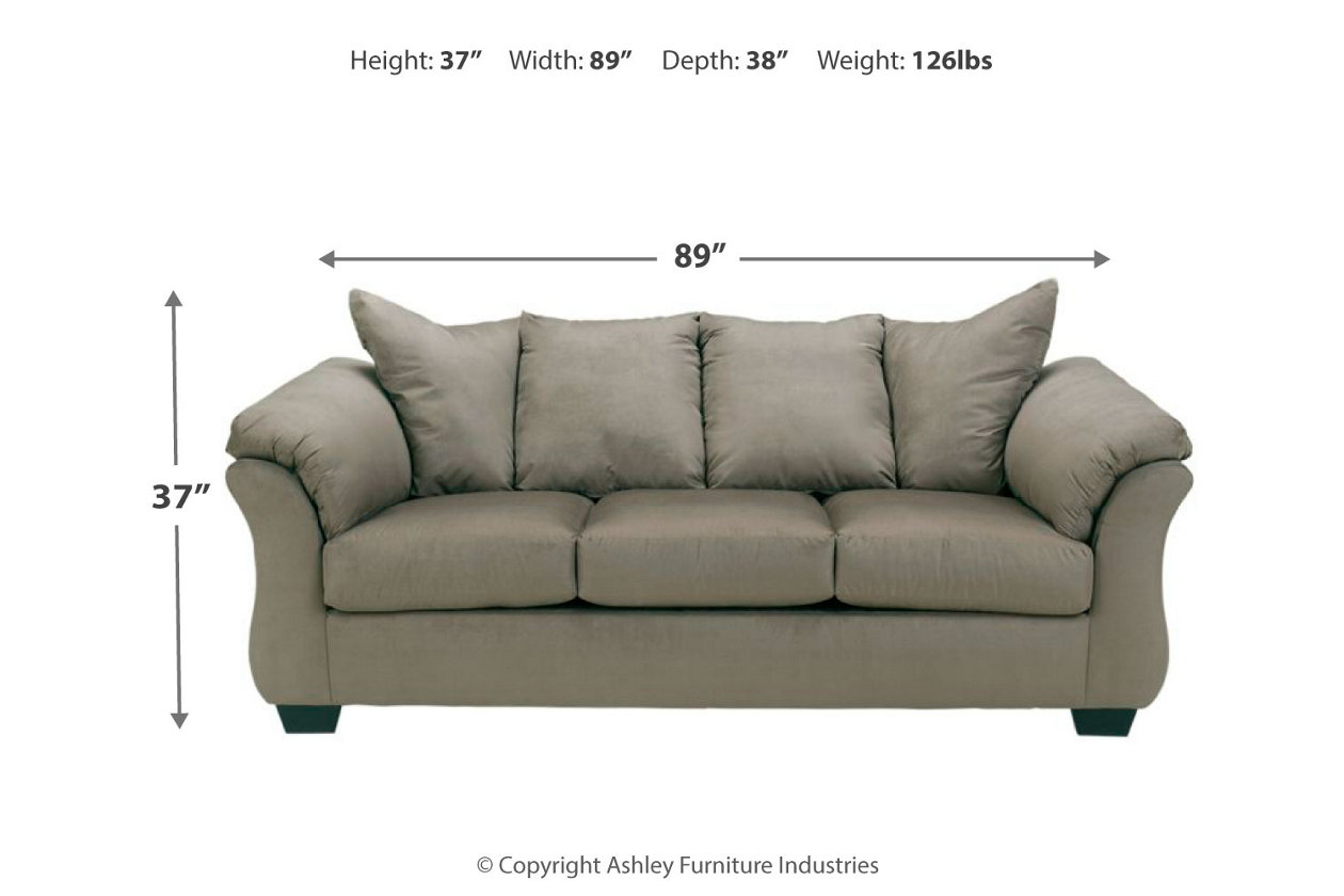 Incredible Darcy Sofa Ashley Furniture Homestore Pabps2019 Chair Design Images Pabps2019Com