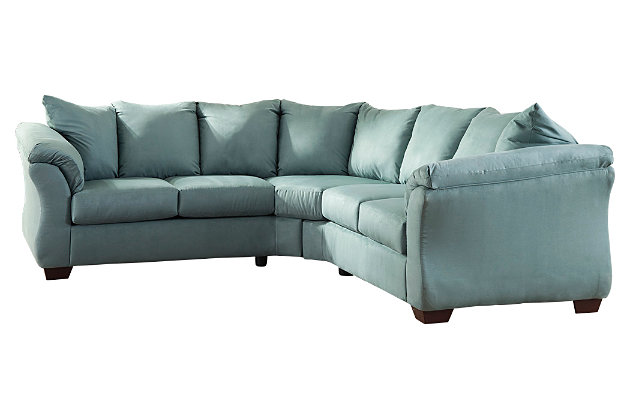 Blue Darcy 2-Piece Sectional by Ashley HomeStore