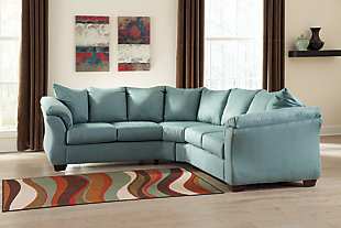 Darcy 2-Piece Sectional, Sky, large
