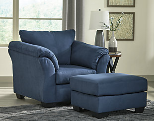 Darcy Chair, Blue, large