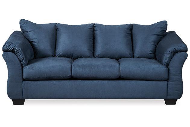 ... Darcy Sofa, Blue, Large ...